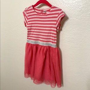 Gap Striped Tulle Dress